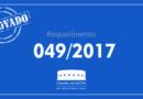 Requerimento aprovado na sessão desta quinta-feira, 20 de abril: