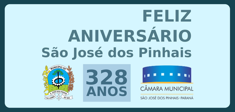 Parabéns São José dos Pinhais!