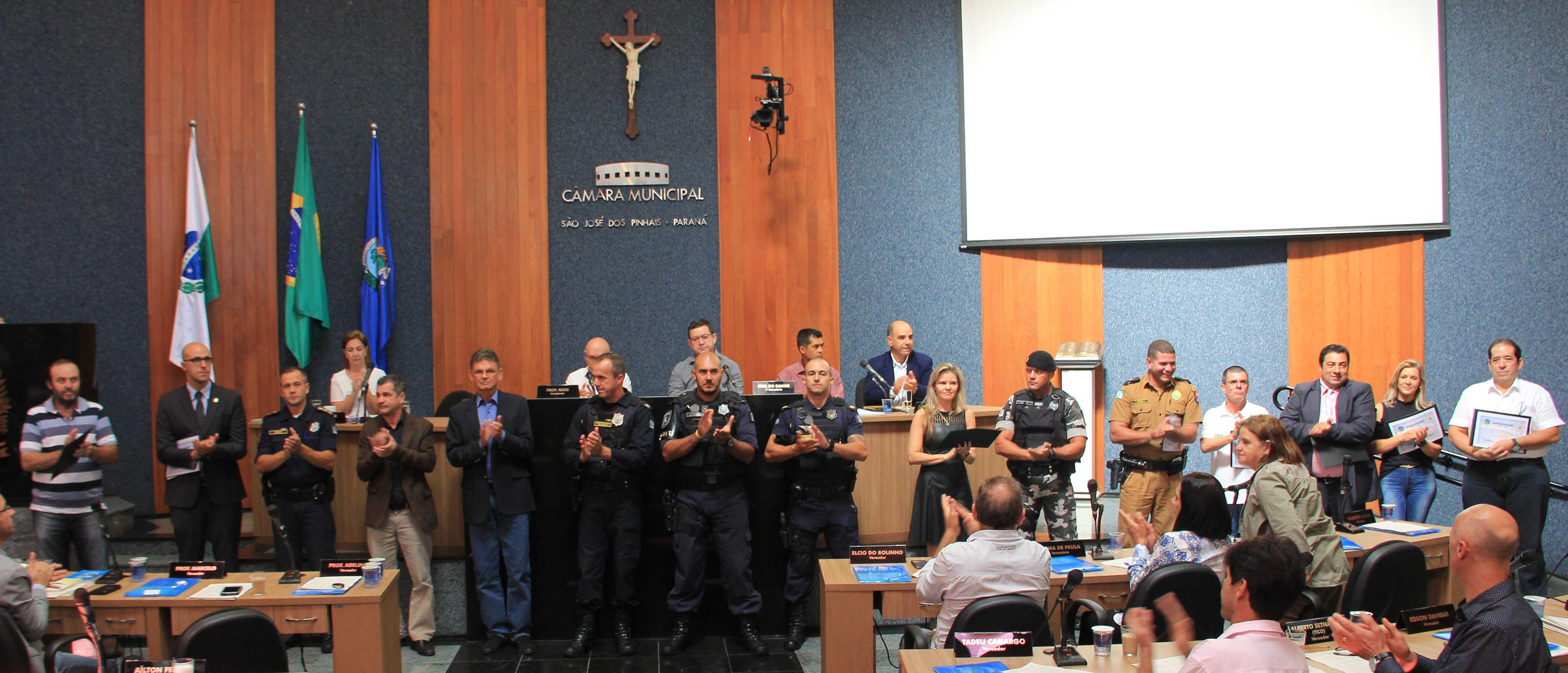 Guarda Municipal celebra seu aniversário com homenagem na Câmara