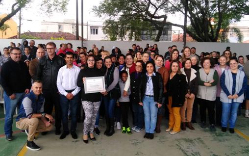 Escola Municipal Antônio Nunes da Rocha Rios recebe Votos de Louvor e Reconhecimento