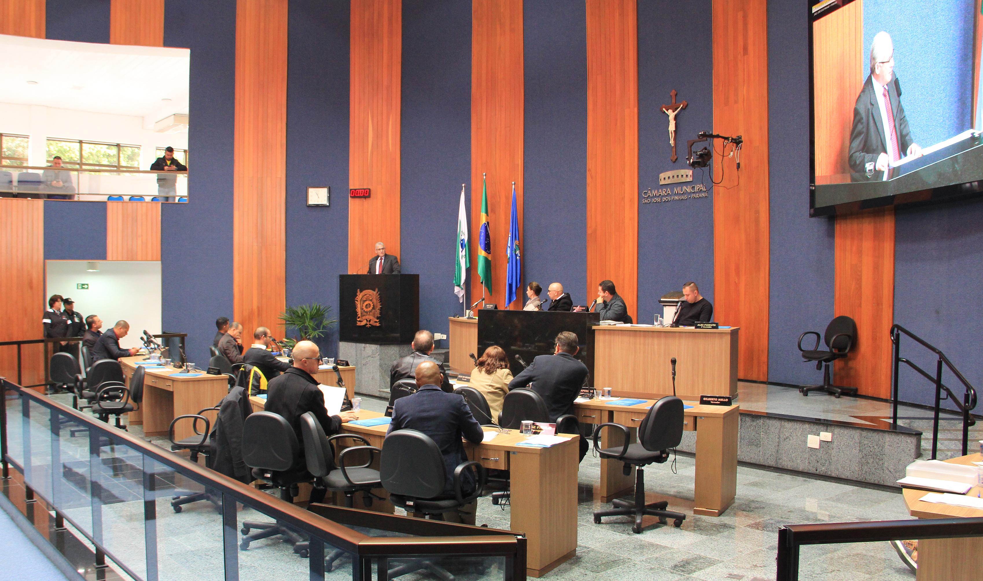 Vereadores recebem representante da Agepar para esclarecer dúvidas quanto as tarifas da Sanepar