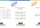 Projetos de Lei, de Decreto Legislativo e Requerimento aprovados* nesta terça-feira, 17 de dezembro: