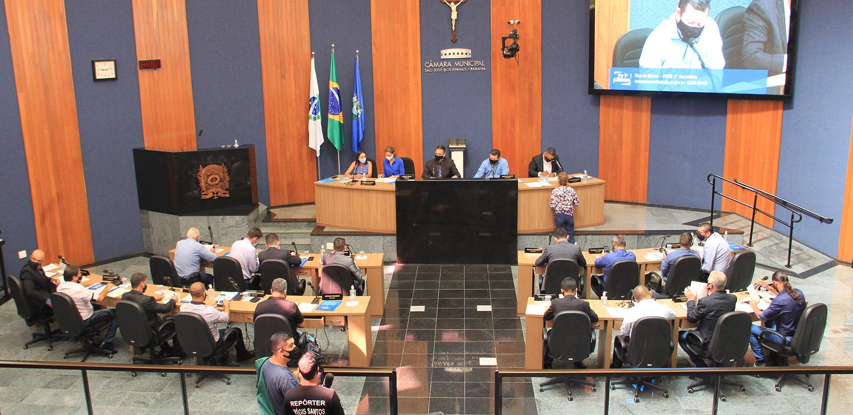 Comissões permanentes do Legislativo são-joseense são definidas para 2021