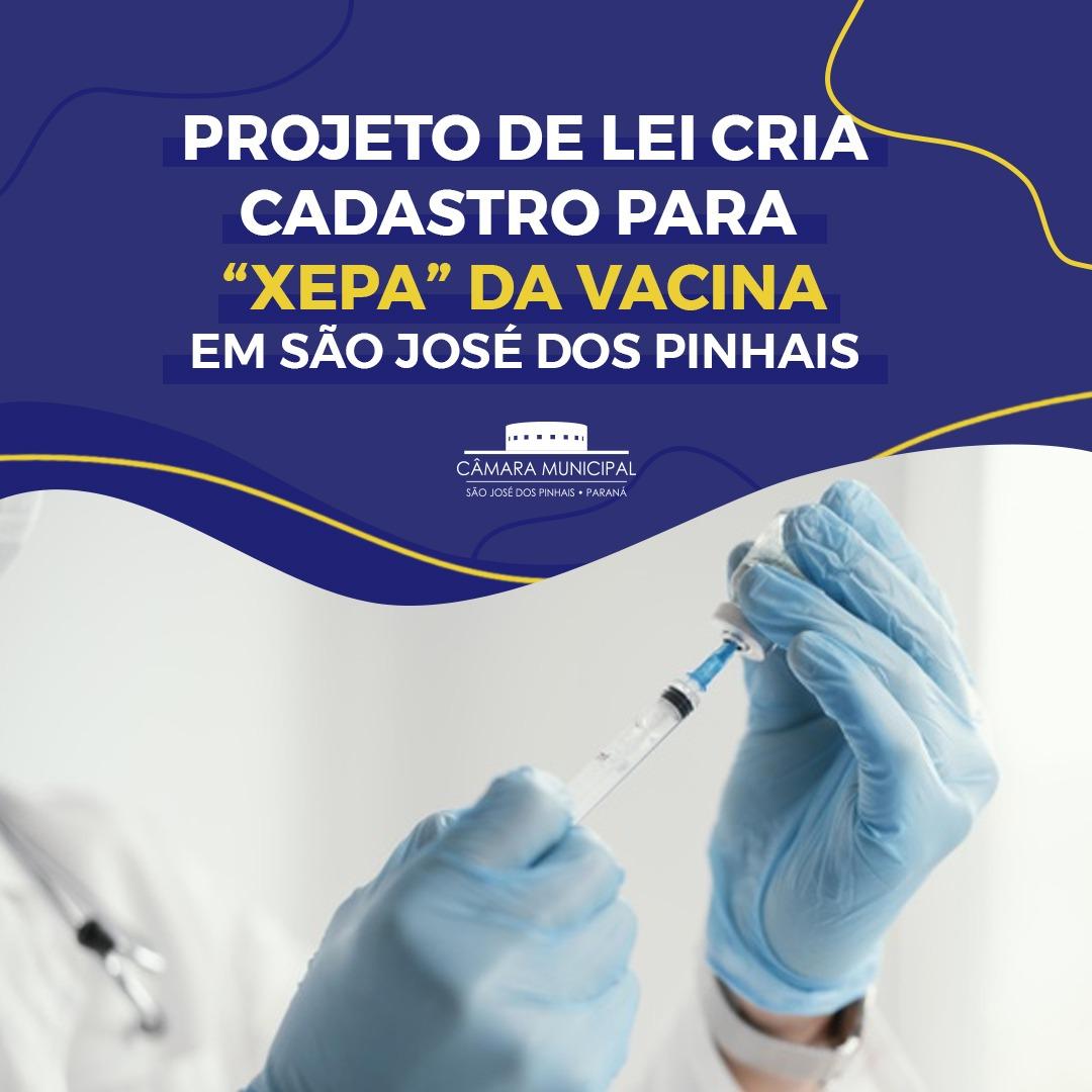 """São José dos Pinhais poderá ter cadastro para """"xepa"""" da vacina contra a Covid-19"""
